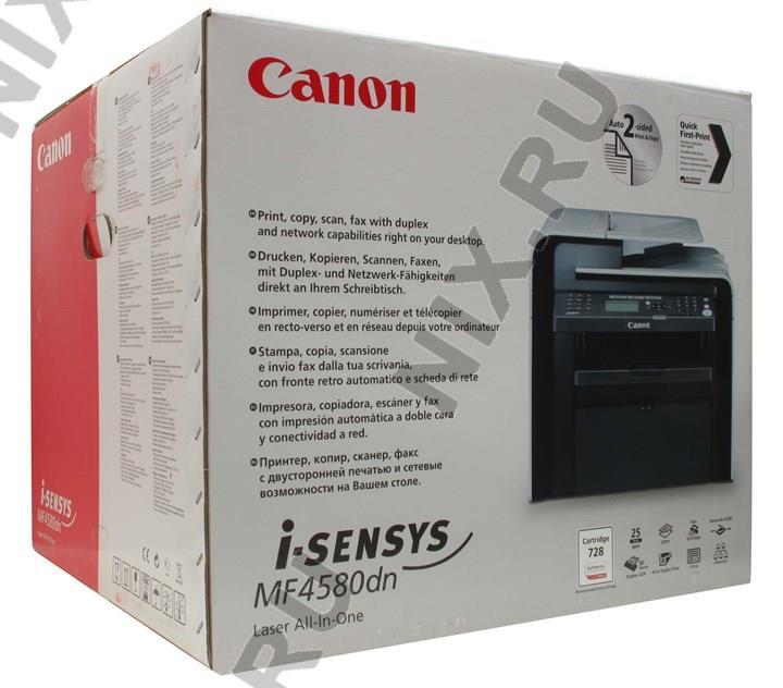 Canon I Sensys Mf4580dn Инструкция