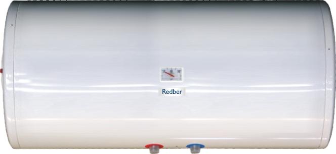 Водонагреватель Redber 80 базовая горизонтальный (накопительный - электрический - бак для воды на 80 л...