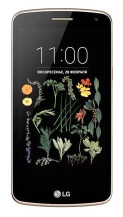 LG K5 X220ds black gold