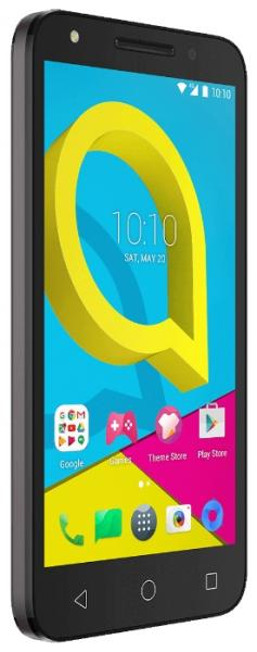 смартфон Alcatel 5044D U5 4G Black/Cocoa Grey